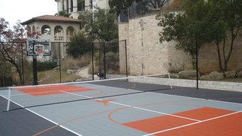 Residential Sport Court 35x65 North Austin