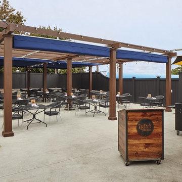 Restaurant Pergola and Fencing