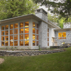contemporary exterior by Cushman Design Group