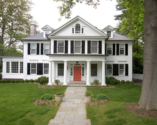 White House Black Shutters Ideas Pictures Remodel And Decor