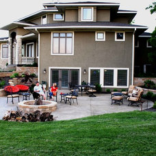 Traditional Exterior by Deckscapes / DS Construction, Inc.
