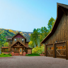 Rustic Exterior by AXIS Productions