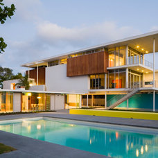 Midcentury Exterior by Guy Peterson Office for Architecture