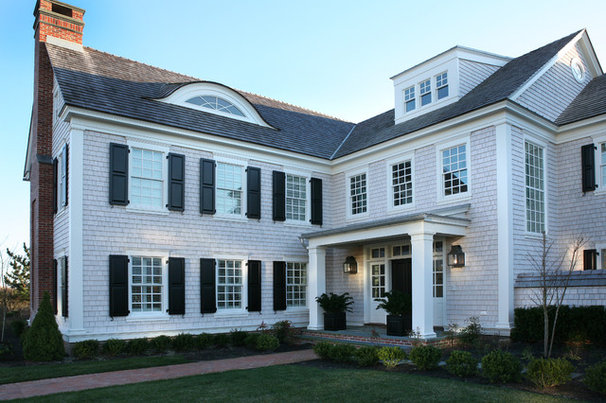 Traditional Exterior by Asher Associates Architects