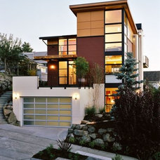 Modern Exterior Rhodes Architecture + Light