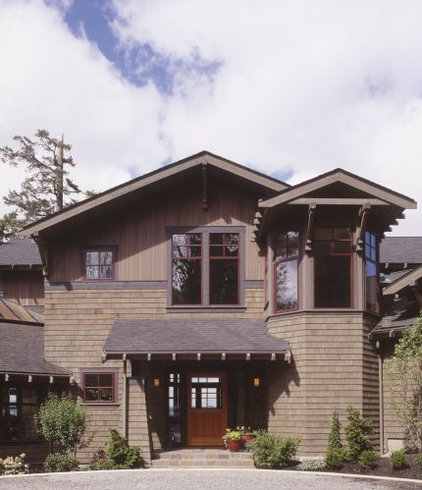 Traditional Exterior Rhodes Architecture + Light, Seattle Architect