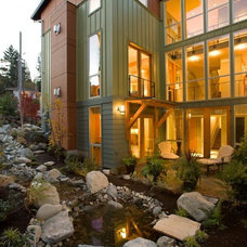 Modern Exterior Rhodes Architecture + Light, Seattle Architect