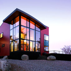 Contemporary Exterior by Marcus Gleysteen Architects