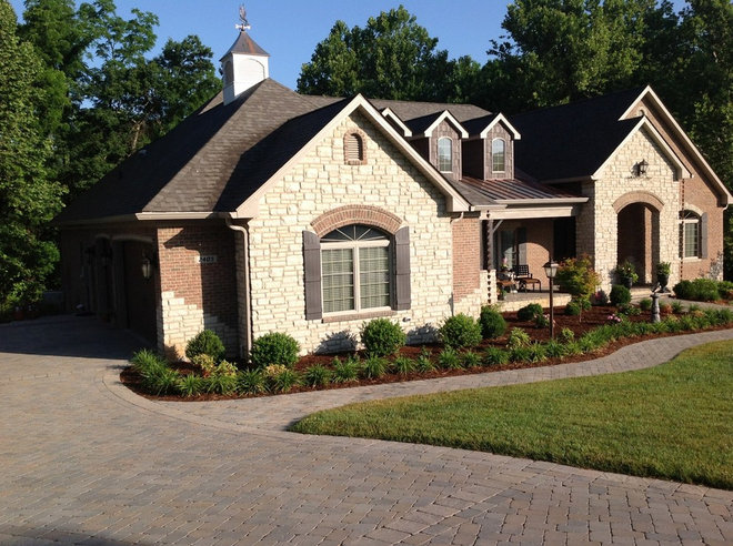 Traditional Exterior by James Williams, Custom Home Builder KY