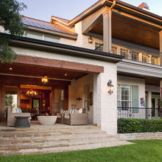 Eclectic Exterior by Vanguard Studio Inc.