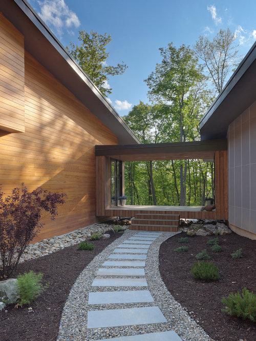 Contemporary houston exterior home design ideas remodels - Ranch americain poet interiors houston ...