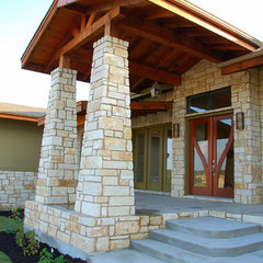 traditional exterior by Design Visions of Austin