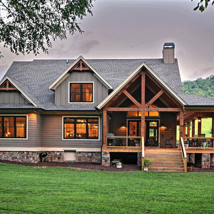 75 Craftsman Exterior Home Design Ideas - Stylish Craftsman Exterior ...