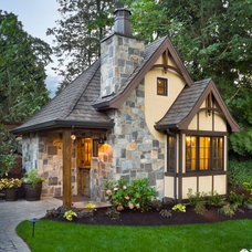 Traditional Exterior by BC Custom Construction