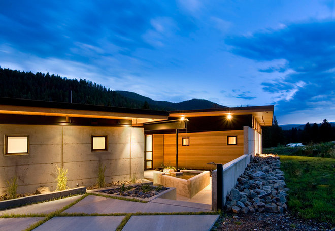 Contemporary Exterior by Balance Associates Architects