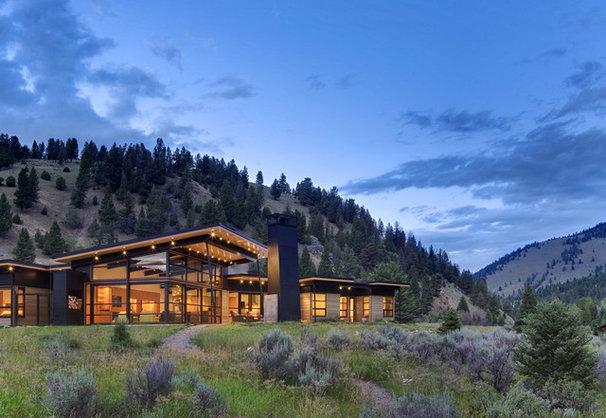 Contemporary Exterior by Balance Associates Architects