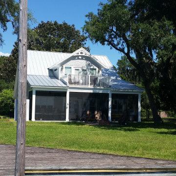 River Camp House Custom Home