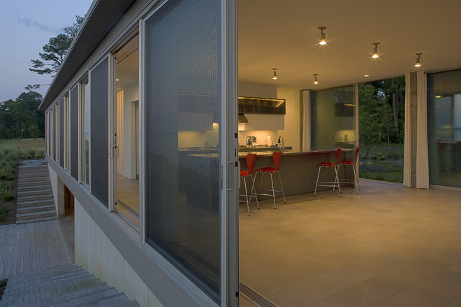 Modern Exterior by Ziger/Snead Architects