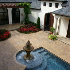 Mediterranean Exterior by Thomason Design
