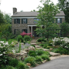 Traditional Exterior by Landscapes by Dallas Foster, Inc