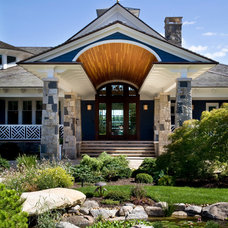 Traditional Exterior by Fiorentino Group Architects