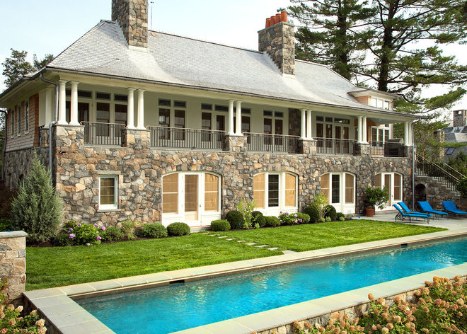 Traditional Exterior by Austin Patterson Disston Architects