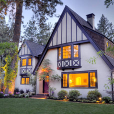 Traditional Exterior by Copperline Homes