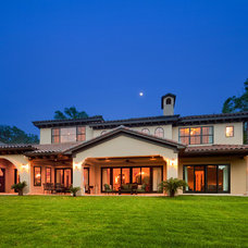 Mediterranean Exterior by Fine Focus Photography