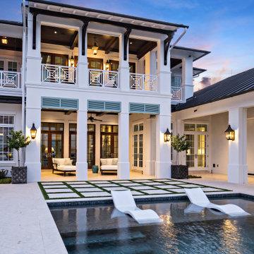 Riverfront British West Indies Home