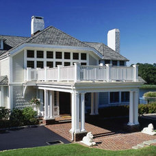 Traditional Exterior by Rudolph Architects