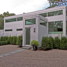 Contemporary Exterior by S.M. CONTRACTING INC