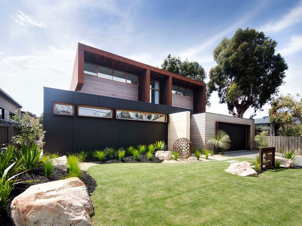 Contemporary Exterior by Lachlan Shepherd Architects