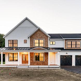 Exempel på ett lantligt hus