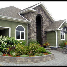 Traditional Exterior by Sherri Fitzgerald - Ultimate Decor