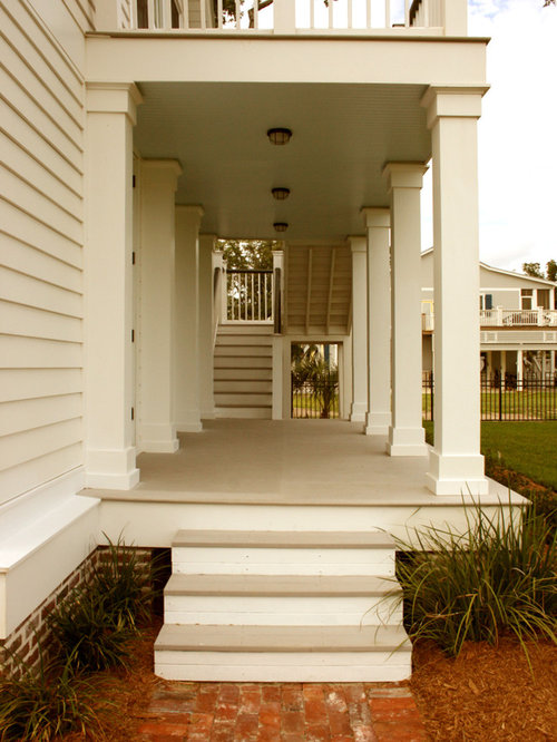Square columns ideas pictures remodel and decor for Columns for house exterior