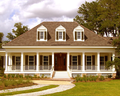 Best acadian exterior design ideas remodel pictures houzz for Acadian style homes with pictures
