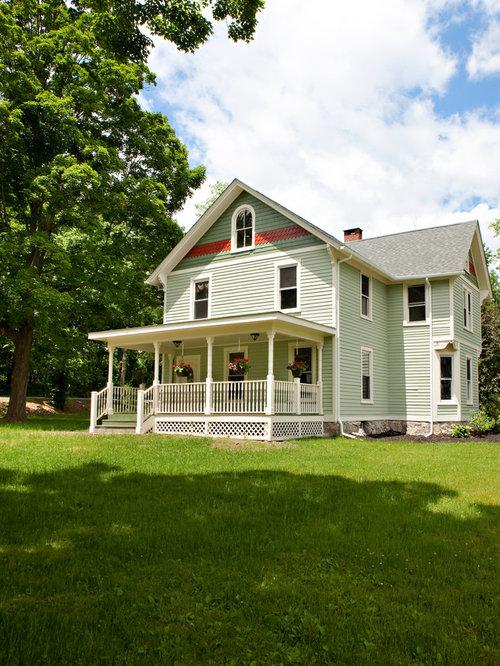Flat Roof Porch Home Design Ideas Renovations Photos