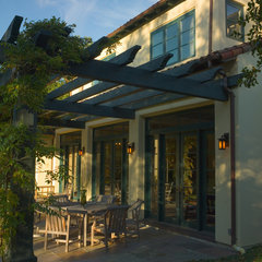 mediterranean exterior by Simpson Design Group Architects