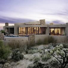Contemporary Exterior by Milestone Homes
