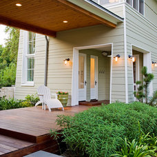 Traditional Exterior by James D. LaRue Architects