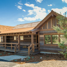 Rustic Exterior by Montana Timber Products