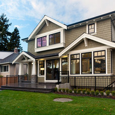 Traditional Exterior by Westeck Windows and Doors