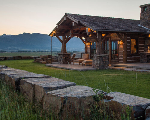 Rocky mountain log homes mountain timber frame for Rocky mountain home builders