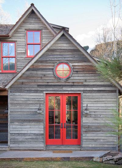 Rustic Exterior by Bob Greenspan Photography