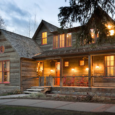 Rustic Exterior by Bob Greenspan Photography