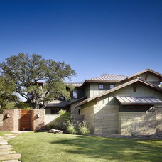 Craftsman Exterior by Cornerstone Architects