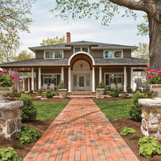 Traditional Exterior by Housetrends Magazine