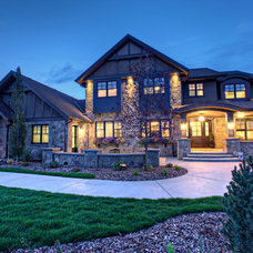 Traditional Exterior by Rockwood Custom Homes