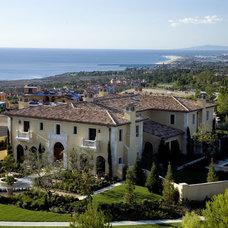 Mediterranean Exterior by Studio H Landscape Architecture