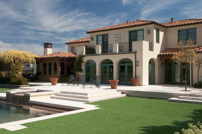 Mediterranean Exterior by Francis Garcia Architect